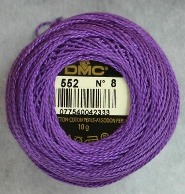 DMC Perle Cotton Thread No.8 80m 10g Ball 10g #600 VERY DARK CRANBERRY