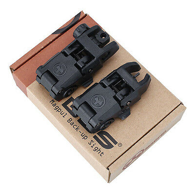 Magpul PTS Flip up Sight Frontsight and Rearsight Kimme Korn klappbar