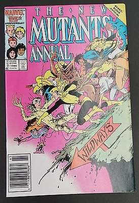 New Mutants Annual #2 NM Marvel Captain Britain Mojo 1st Psylocke Claremont
