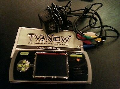 Tiger Electronics TV Now Personal Portable Video Recorder Player
