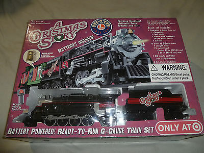 Boxed Lionel A Christmas Story Train Set 7-11177 G Guage Battery Powered 2009