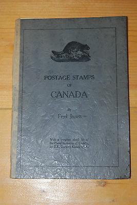 Weeda Postage Stamps of Canada, Fred Jarrett 1923 catalogue/check list, Scarce!
