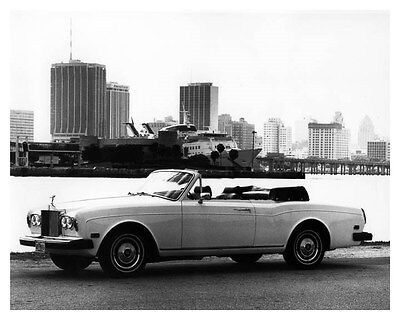 1984 Rolls Royce Corniche Convertible ORIGINAL Factory Photo ouc0903