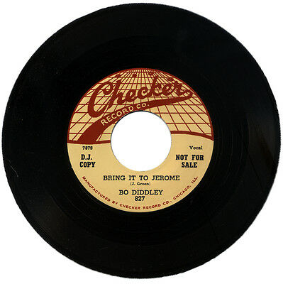 """BO DIDDLEY  """"BRING IT TO JEROME c/w PRETTY THING""""    R&B    LISTEN!"""