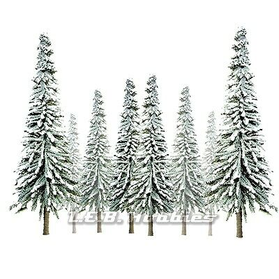 "JTT Scenery Products Snow Spruce Tree Z-Scale 1""- 2"" Super Scenic, 55/pk 92005"