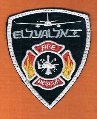 Israel Flight Firefighter Elal Fire Rescue Service Patch  Very Rare
