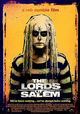 The Lords Of Salem A Rob Zombie Film Horror Movie A6+A4+A3+Framed+Super A3 Print