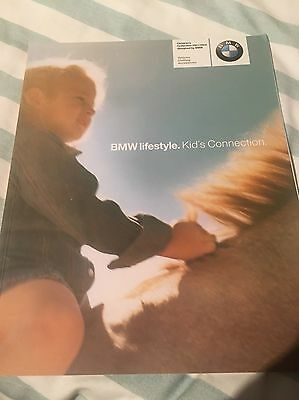 BMW Lifestyle Kids Collection 2001 / 02 Mint Brochure