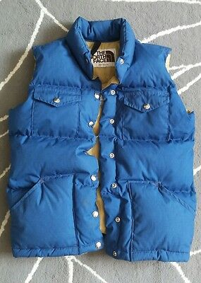 Vintage womens North Face Goose down Hunting Puffer Vest Sz M