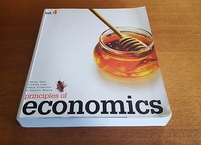 Principles of Economics by Gregory Mankiw Paperback Book 4th Edition