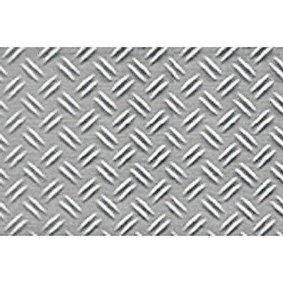 JTT Scenery Products 1:24 G-Scale Double Diamond Plate Pattern Sheet, 2/pk 97452
