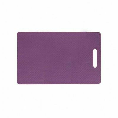 Cutting Chopping Board Polypropylene Purple 250x400x10mm Bar Kitchen Cafe