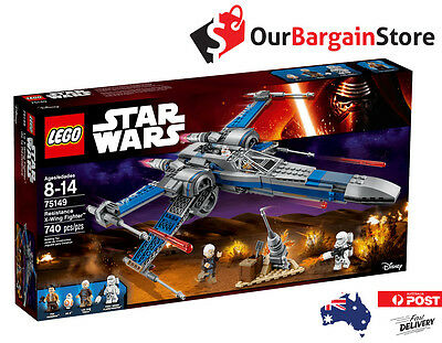 Lego 75149 – Resistance X-Wing Fighter™ Star Wars *NEW* *SEALED*