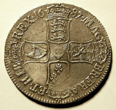 1687 EF Early Milled King James II Silver Crown  CGS 60  ☆☆☆ Spink £5500 EF ☆☆☆