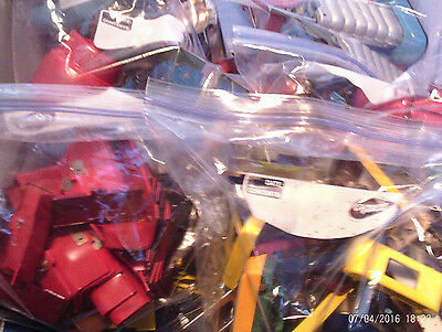 Very Large Collection of Tin Robots Parts- Lot