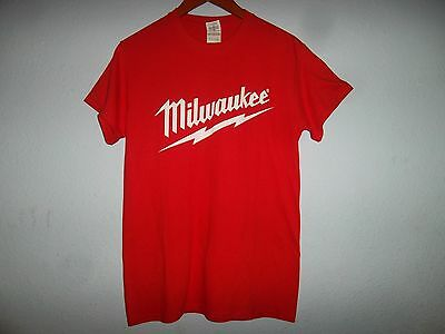 Milwaukee Tools M18 Fuel Lithium Ion Promotional T-Shirt  Mens Size S