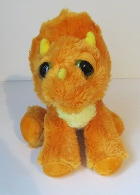"9"" Aurora Land Before Time Cera Plush Stuffed Dinosaur Animal GUC"