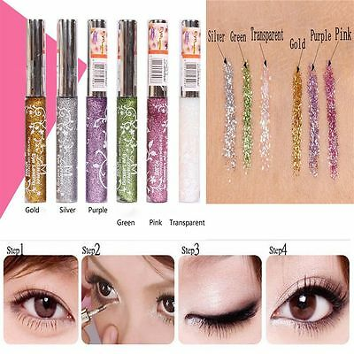 Gift Party Comestic Women Sparkling Makeup Eyeshadow Liquid Glitter Eyeliner