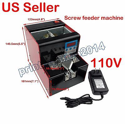 110V Automatic Screw Feeder Counter Function Conveyor Machine 1-5mm