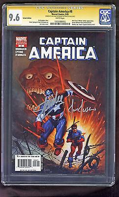 Captain America 8 CGC SS 9.6 Stan Lee Jusko Red Skull Variant 3rd Winter Soldier