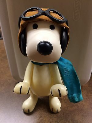 Vintage Rare Snoopy Flying Ace Aviator Pocket Peanuts Doll 1968