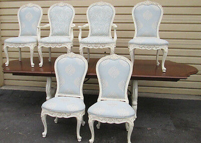 57848 Century Furniture Dining 7 pc Set Table with 6 Chairs