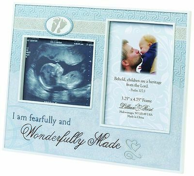 Lillian Rose Baby Boy Ultrasound Picture Frame Keepsake 24FR951 B