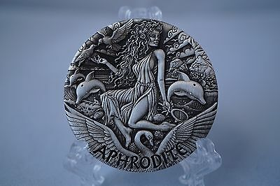 Perth Mint 2015 - GODDESSES OF OLYMPUS 2oz High Relief Silver Coin: APHRODITE