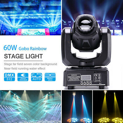 60W RGBW Spot LED Moving Head Gobos Stage Light DMX512 Disco DJ Party Lighting  sc 1 st  PicClick : lighting gobos - www.canuckmediamonitor.org