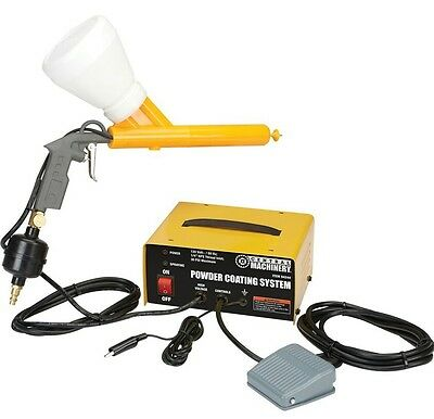 New Complete Powder Coating System Paint Gun Coat Kit
