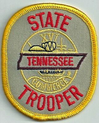 Tennessee State Trooper - Shoulder - Iron On Patch