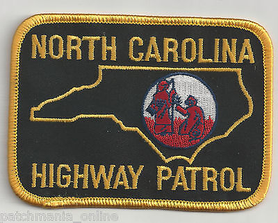 North Carolina Police Shoulder Iron / Sew On Patch
