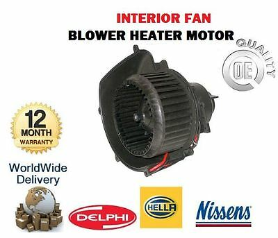 For Vauxhall Astra 1998-2009 Interior Heater Blower Fan Motor 93181057