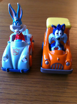 Tiny Toons 2 Die Cast Vehicles, Warner Brothers Looney Bugs Bunny & Furrball