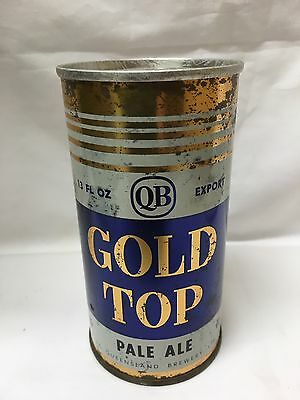 Gold Top Queensland QB Old Steel Can 1960's