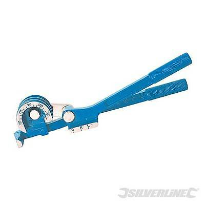 Mini Pipe Bender 6-10mm 270mm Strong aluminium casting and heavy duty hinge