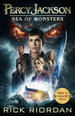 The Percy Jackson series: Percy Jackson and the sea of monsters by Rick Riordan
