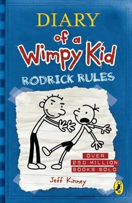 Diary of a Wimpy kid: Rodrick rules by Jeff Kinney (Paperback)