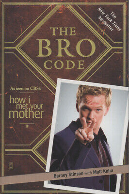 The bro code by Barney Stinson (Paperback)