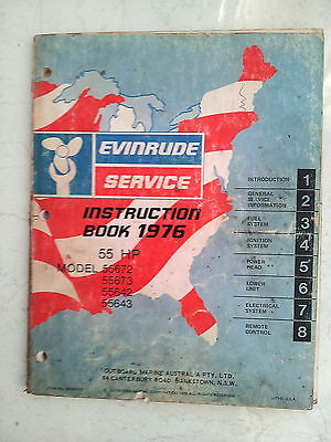 Service Manual Evinrude 1976 55 HP