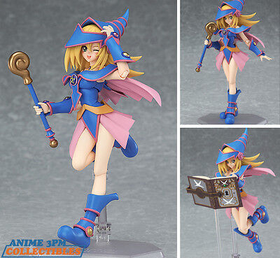 Max Factory Figma - Yu-Gi-Oh! - #313 Dark Magician Girl Action Figure AUTHENTIC!