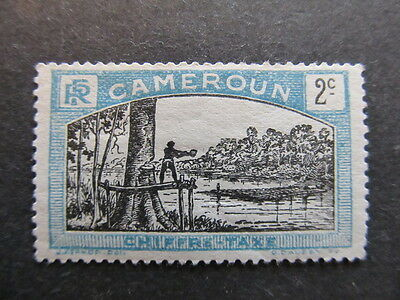 A3P24 French Cameroun Postage Due Stamp 1925-27 2c mh* #45