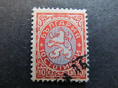 A3P23 Bulgaria 1925 10s used #35