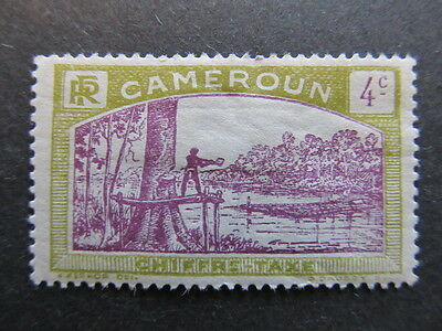 A3P24 French Cameroun Postage Due Stamp 1925-27 4c mh* #46