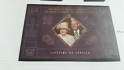 British Indian Ocean Territory 2011 Sg Ms458 Lifetime Of Service Mnh