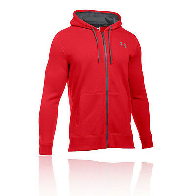 Under Armour Storm Rival Hommes Rouge Hoody Sweat À Capuche Top Hoodie Haut
