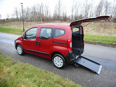 2011 Fiat Qubo Dynamic 1.3 Automatic Auto WHEELCHAIR ACCESSIBLE VEHICLE CAR WAV