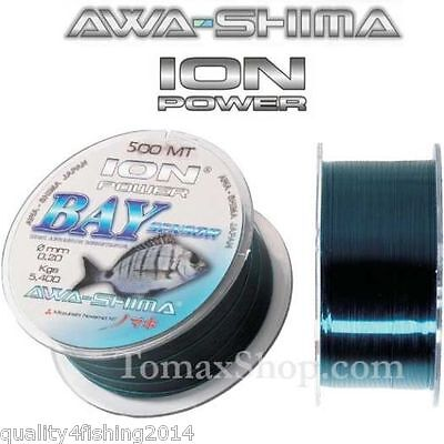 AWA-SHIMA ION POWER BAY SENSOR 500m/ 546yds Fishing line