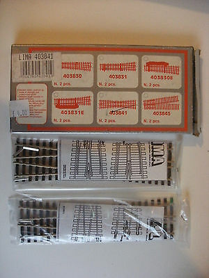 Model Railway Supplies - Lima 403841 H0 Points Track x 2 pcs Sealed