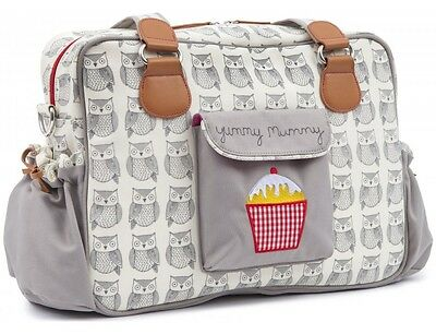 Pink Lining Yummy Mummy Baby Changing Bag Wise Owl